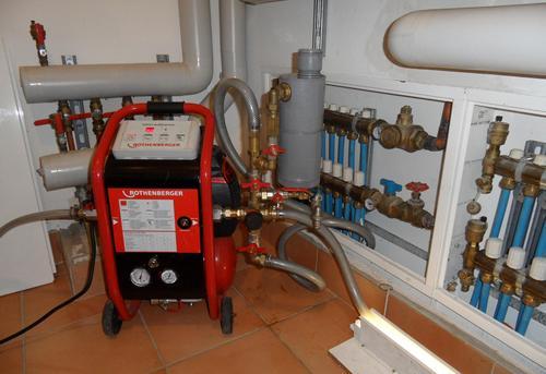 Гидродинамическая промывка системы отопления в Павловском Посаде