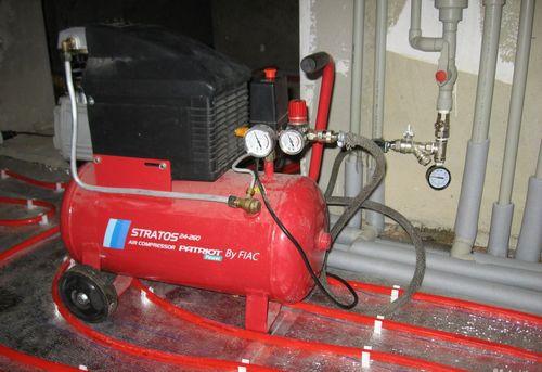 Гидропневматическая промывка системы отопления в Павловском Посаде