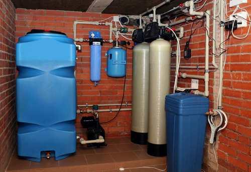 Монтаж автономного водоснабжения в Павловском Посаде