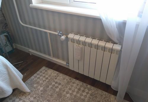 Монтаж батарей отопления с терморегулятором в Павловском Посаде