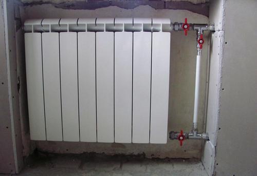 Монтаж батарей отопления с установкой байпаса в Павловском Посаде