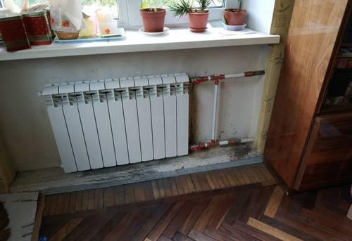 Монтаж батарей отопления в частном доме в Павловском Посаде