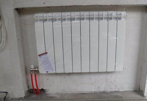 Монтаж батарей отопления в квартире в Павловском Посаде