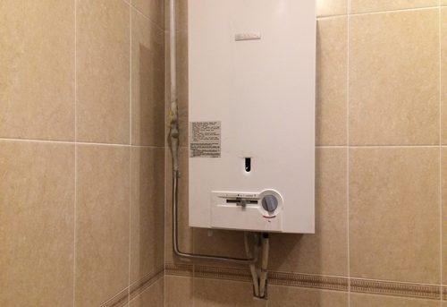 Установка газовой колонки Bosch в Павловском Посаде