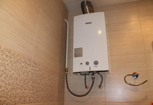 Установка газовой колонки в ванной в Павловском Посаде