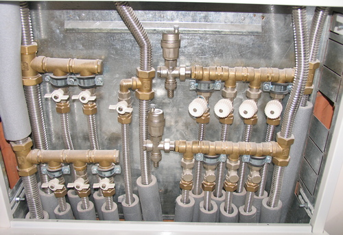Монтаж нержавеющих труб водоснабжения в Павловском Посаде