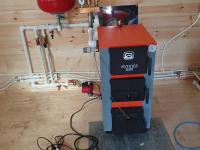 Монтаж систем отопления в доме