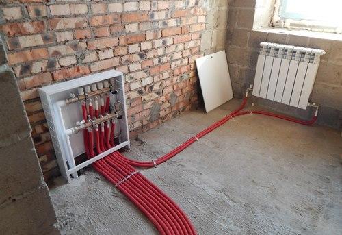 Монтаж отопления в квартире в Павловском Посаде