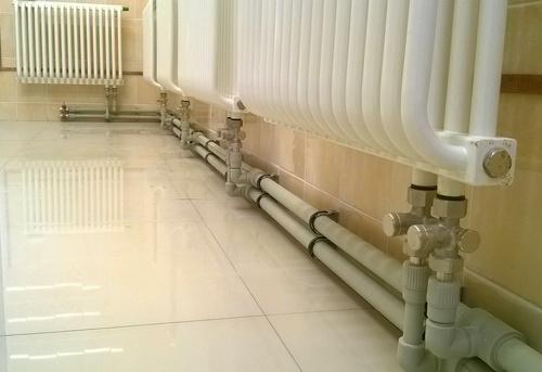 Монтаж полипропиленовых труб отопления в Павловском Посаде