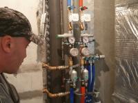 Монтаж стальных труб водоснабжения