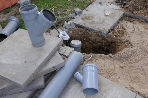 Монтаж труб канализации в Павловском Посаде