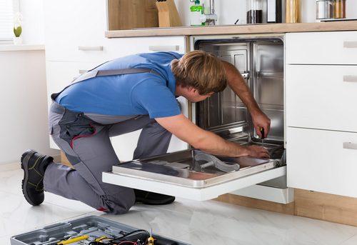 Подключение посудомоечной машины на кухне в Павловском Посаде