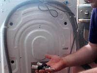 Подключение отдельно стоящей стиральной машины