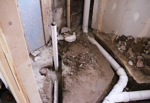 Разводка канализации в частном доме в Павловском Посаде