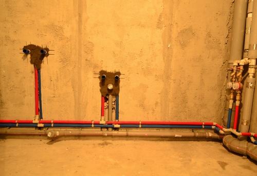 Разводка канализации в коттедже в Павловском Посаде