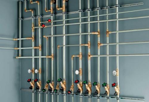 Разводка стальных труб в Павловском Посаде
