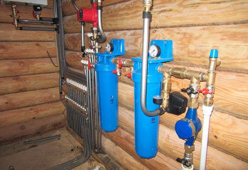 Разводка водоснабжения в частном доме в Павловском Посаде