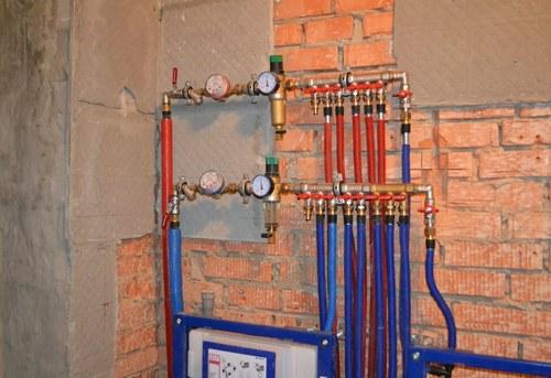 Разводка водоснабжения в квартире в Павловском Посаде
