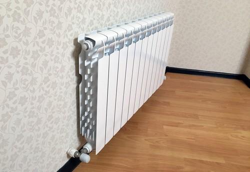 Установка алюминиевого радиатора отопления в Павловском Посаде