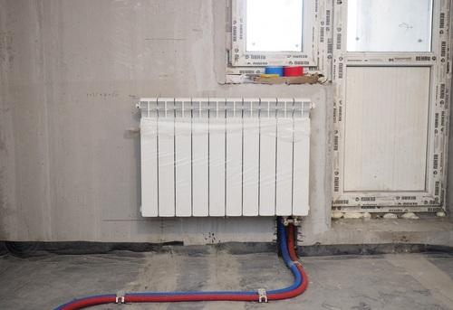 Установка биметаллического радиатора отопления в Павловском Посаде