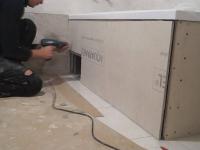Сборка и установка деревянного экрана под ванну