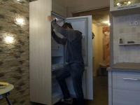 Установка холодильника Samsung