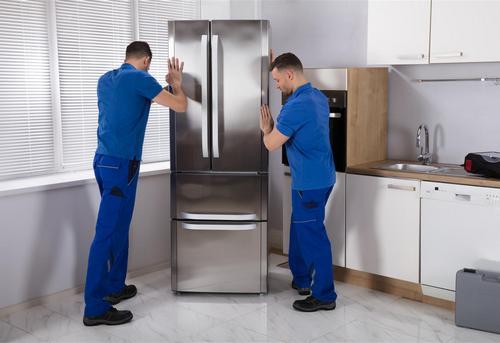 Установка отдельно стоящего холодильника в Павловском Посаде