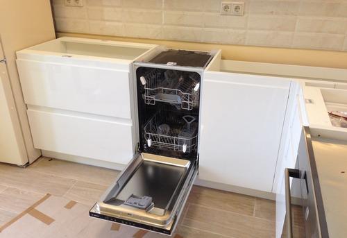 Установка посудомоечной машины в гарнитур в Павловском Посаде