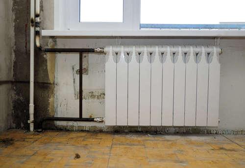 Замена биметаллического радиатора отопления в Павловском Посаде
