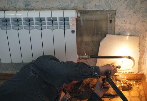 Замена отопительных труб из стали в Павловском Посаде