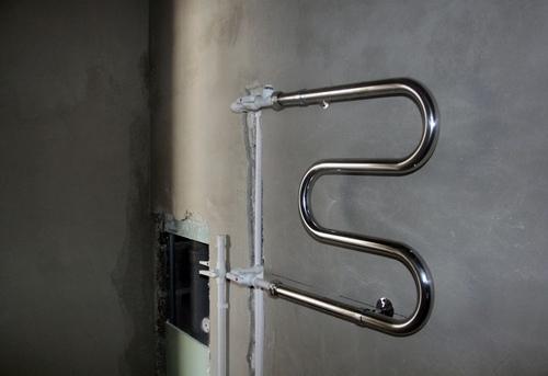 Замена полотенцесушителя с байпасом в Павловском Посаде