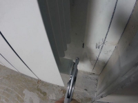Замена радиатора отопления с заменой подводки