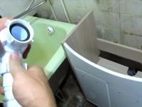 Замена раковины в ванной комнате
