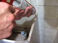 Замена раковины в туалете