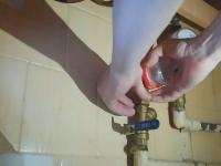 Замена водяного счечтика