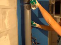 Замена стояка канализации в частном доме