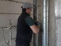 Замена металлического стояка канализации