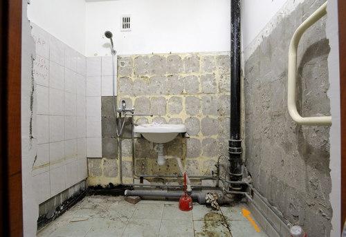 Замена стояка канализации в ванной в Павловском Посаде