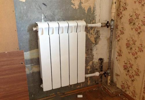 Замена стояка отопления с установкой радиатора отопления в Павловском Посаде